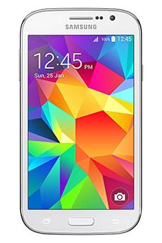 Samsung Galaxy Grand Neo Plus – Smartphone libre Android (pantalla 5″, cámara 5 Mp, 8 GB, Quad-Core 1.2 GHz, 1 GB RAM), blanco (importado)