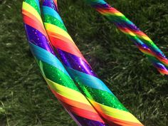 Glitter Rainbow dance & exercise Hula Hoop by DanceHoops on Etsy (Just bought this, so excited!!)
