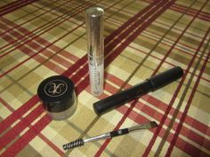 Anastasia brow products. Gently used but cleaned the cover of loose powder, sanitized the wax and washed the brush.