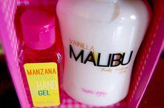 Crema Malibu Vainilla + Hand Gel Manzana Tropical