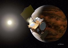 The Japanese Akatsuki spacecraft is now successfully orbiting the planet Venus, exactly five years after its first attempt at doing so. When it reached the planet onDecember 7, 2010, a malfunction to the main engine sent the probe hurling into space away from Venus.