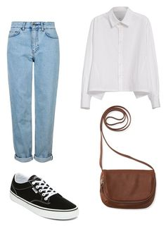 """""""Untitled #10"""" by alexandra-ilas ❤ liked on Polyvore featuring Topshop, Y's by Yohji Yamamoto, Vans and Aéropostale"""