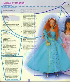 Photo: Diy Clothes Patterns, Doll Dress Patterns, Barbie Patterns, Sewing Patterns, Diy Barbie Clothes, Doll Clothes, Barbie Stuff, Rosalie, Poppy Parker