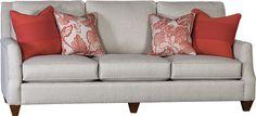Mayo Furniture 6200F Fabric Sofa - Hedge Muslin