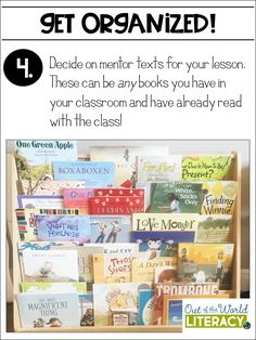 Organize Your Reading Instruction in 6 Simple Steps - Out of this Word Literacy Teaching Grammar, Teaching Reading, Guided Reading, Classroom Organisation, Organization, Classroom Management, Reading Comprehension Skills, Common Core Curriculum, Mentor Texts