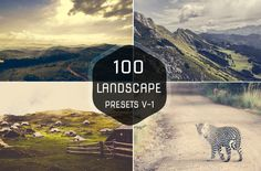 100 Landscape Lightroom Preset by Symufa on Creative Market