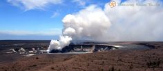 See the Big Island's Mt Kilauea volcano on a day long inter-island tour from Maui. Airfare and the world's most active volcano are included with your tour. // Must go!