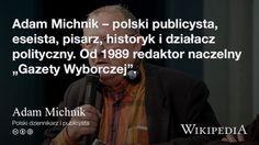 """""""Adam Michnik"""" på @Wikipedia: Workers Union"""