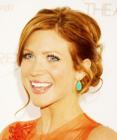 Brittany Snow loving this hair!!
