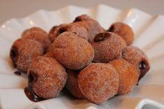 Gluten Free Mini Hanukkah Sufganiyot Donuts With Nutella Filling