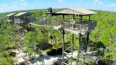 Most People Don't Know This Florida Zoo And Adventure Park Even Exists - Horseback riding, zip lining, wildlife tours, and the only aerial bike path in the country. Places In Florida, Visit Florida, Florida Living, Florida Vacation, Florida Travel, Florida Trips, Vacation Spots, Vacation Ideas, Voyage