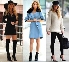 blake lively 2013 fashion style | Blake Lively strikes a sultry pose in a series of stylish outfits on ...