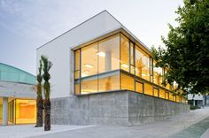 Image 12 of 26 from gallery of Cultural and Social Center in Carrús / Julio Sagasta + Fuster Arquitectos. Photograph by Bruno Almela Nook And Cranny, Alicante, Spain, Culture, Mansions, Architecture, House Styles, Gallery, Dream Homes