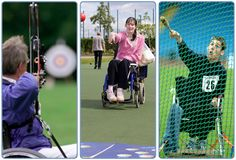 Great action photos from three sports. #joyofsport http://www.slleisureandculture.co.uk/SLLC/info/127/disability_sports