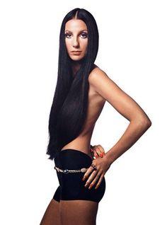 Cher aged 26 in Manhattan, New York (1972)