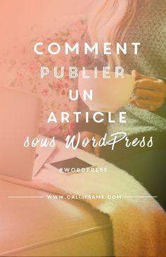 publier un article sous wordpress Wordpress Guide, Wordpress Help, Wordpress Support, Wordpress Template, Wordpress Plugins, Ecommerce, Des Articles, Formation Continue, Creer Un Site Web
