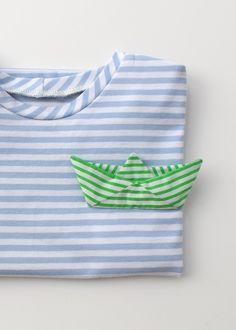 Origami Boat Artwork PDF Sewing Pattern #Confident-Beginner #Free