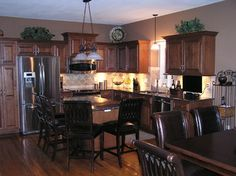 Kitchen Remodeling with Cabinet Refacing - traditional - kitchen - kansas city - Kitchen Solvers of Kansas City