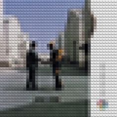 LEGO ALBUMS: Pink Floyd - Wish you were here