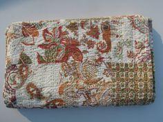 Kantha Quilt Kantha Blanket Kantha Bedspread Kantha by Labhanshi, $65.00