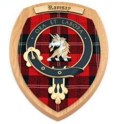Extra Large Clan Crest Wall Plaque