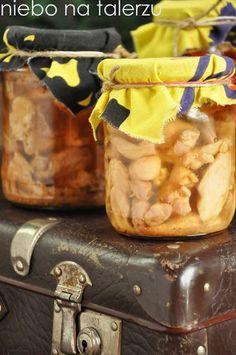 niebo na talerzu - Blog z przepisami na specjały domowej kuchni Polish Recipes, Mozzarella, Kitchen Appliances, Jar, Homemade, Canning, Food, Easy Meals, Diy Kitchen Appliances
