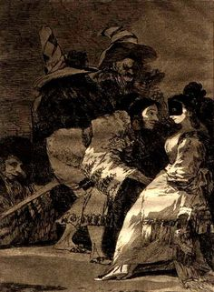 Francisco Goya from Los Caprichos