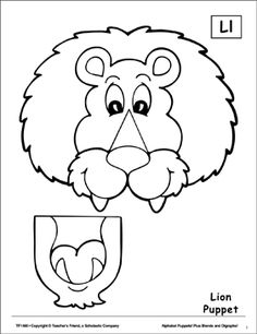 Letter L Lion Craft Template Ten New Thoughts About Letter L Lion Craft Template That Will Turn Your World Upside Down Preschool Crafts, Crafts For Kids, Arts And Crafts, Letter L Crafts, Monkey Puppet, Frog Puppet, Paper Bag Crafts, Paper Toys, Toddler Bible
