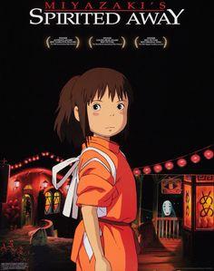 Anime Reccomendations, Spirited Away, Miyazaki, Posters, Hayao Miyazaki, Poster, Billboard
