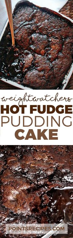 Hot Fudge Pudding Cake (Weight Watchers SmarPoints)