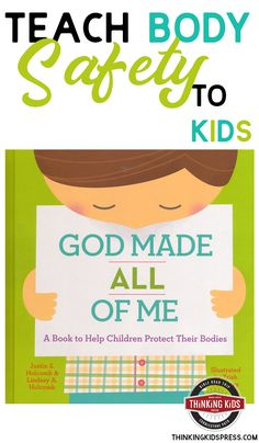 Help Children Protect Their Bodies! Looking for body safety rules for kids? Help children protect their bodies with Christian book God Made All of Me - the human body for kids. Best Children Books, Books For Boys, Children And Family, Kids And Parenting, Parenting Hacks, Safety Rules For Kids, Childrens Book Shelves, Book Log, Prayer For Family
