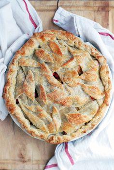 cranberry apple pie // brooklyn supper