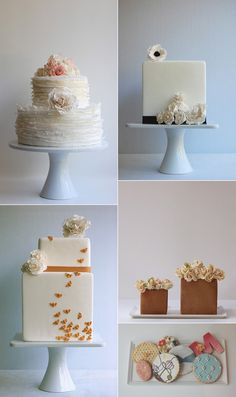 Maggie Austin Cakes (www.maggieaustincakes) are some of the most beautiful I've ever seen!