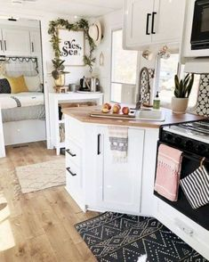 If you are looking for Rv Living Iinterior Remodel Ideas Budget, You come to the right place. Below are the Rv Living Iinterior Remodel Ideas Bu. Rv Campers, Happy Campers, Camper Life, Camper Trailers, Custom Campers, Small Campers, Home Renovation, Home Remodeling, Camper Renovation