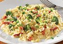 Creamy Broccoli & Sun-Dried Tomato Orzotto - love quick and tasty recipes.  Our Deep Covered Baker is magic!   www.pamperedchef.biz/sweetdeals The Pampered Chef®