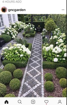 A front garden can be said as a magical garden as this is the path which guests take before they approach you. You can use your front garden to your Xeriscape Front Yard, Backyard, Most Beautiful Gardens, Garden Paths, Beautiful Gardens, Gorgeous Gardens, Garden Planning, Outdoor Gardens, Xeriscape
