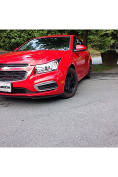 Chevy Cruze #Chevrolet #Cruze #RedHot Chevrolet Cruze, Chevy, Sporty, Cars, Future, Projects, Red, Ideas, Log Projects