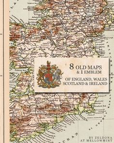 free Old Maps of the United Kingdom by ~mellowmint on deviantART