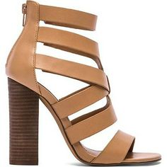 STEVE MADDEN heel found at Nudevotion.com #darknude