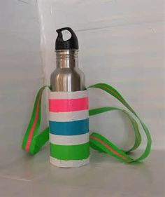 Duct tape crafts - Bing Images... This would be perfect for my students to make before camp.