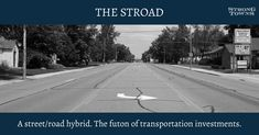 make streets not stroads