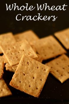Tea Recipes, Baby Food Recipes, Snack Recipes, Snacks, Appetizer Recipes, Appetizers, Whole Wheat Crackers Recipe, Sesame Cookies, Biscuits