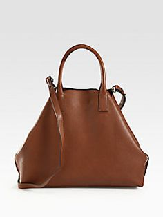 Love the shape and the color of this bag!