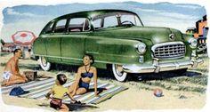 Sun Fun!  1950 Nash
