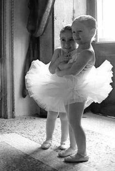 Little ballerinas #cute