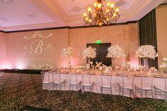 White Rose Entertainment Wedding at Bella Collina | Pink Uplighting | Orlando Wedding | Orlando Wedding Venue | Orlando Wedding DJ