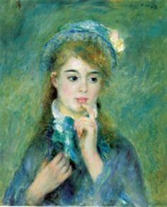 Auguste Renoir – L'ingénue, 1874, Sterling and Francine Clark Art Institute, Williamstown