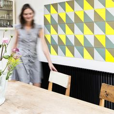 Looking for an Interior Designer or Stylist? Make Room is a boutique interior design and styling agency based in Singapore. Boutique Interior Design, Room Interior Design, Yellow Wall Art, Banksy, Home Decor Wall Art, Pink Yellow, A Boutique, House Colors, Pattern Design