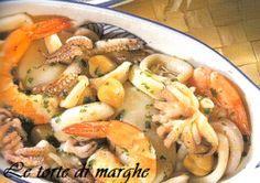 Insalata di mare molto gustosa e facile da preparare un ottimo antipasto sia freddo che caldo. Un'alternativa molto e l'aggiunta di ceci...