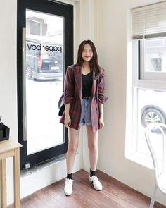 Bargain for stunning casual korean fashion. Bargain for stunning casual korean Korean Girl Fashion, Korean Fashion Trends, Korea Fashion, Cute Fashion, Look Fashion, Trendy Fashion, Ulzzang Fashion Summer, Korean Fashion Summer, Asian Fashion Style